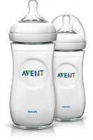 AVENT Natural 11oz/330ml Twin Pack