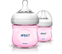 AVENT 4OZ Pink/Blue_Twin