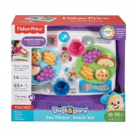FISHER PRICE laugh and learn_say please snack set