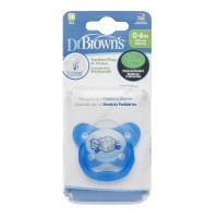 Dr. Brown's PreVent® Contoured 0-6 Glow-in-the-Dark