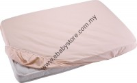 BABYLOVE FITTED SHEET (playpen size 73.7cm x 101.6cm x 7.6cm)